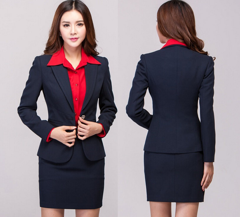 Popular Formal Skirt Suit-Buy Cheap Formal Skirt Suit lots from ...