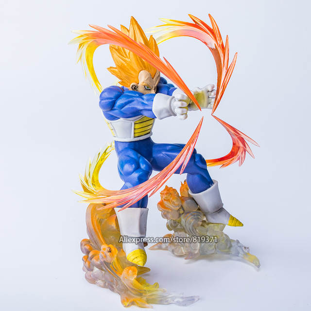 Hot Toys DragonBall Super Saiyan Vegeta Battle State Final Flash Dragon  Ball Z Action Anime Figures Figurine Toys For Children