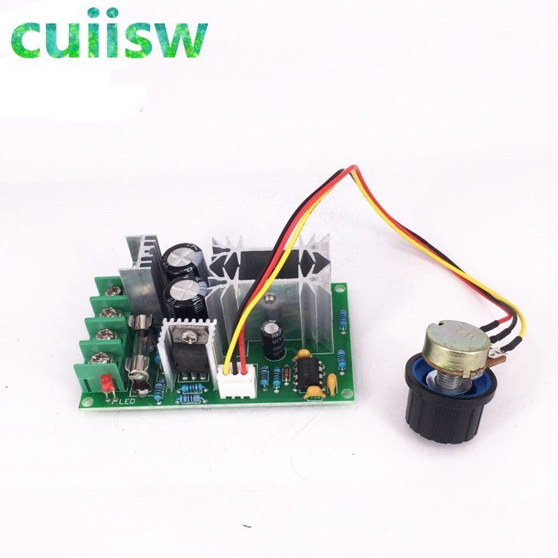 Reasonable High Power 40a Dc Motor Speed Regulator 9v-60v Pwm Universal Motor Drive Air Conditioner Parts