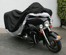 Xxxl capa da motocicleta à prova dwaterproof água para honda gold wing gl 500 650 1000 1100 1200 1500 1800/harley road king glide touring
