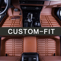 High Quality 2017 New Arrival Custom Make Car Interior Floor Mats Special For Ford Mondeo Kuga