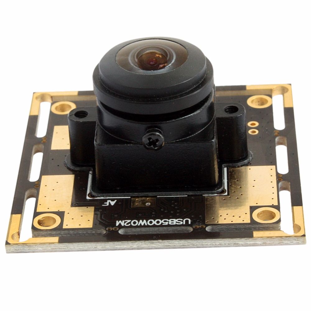 5MP 2592*1944 CMOS OV5640 wide angle fisheye Lens Free Driver digital Industrial USB 2.0 Camera module for Android Linux Windows elp oem 170 degree fisheye lens wide angle mini cmos ov5640 5mp autofocus usb camera module for android linux windows