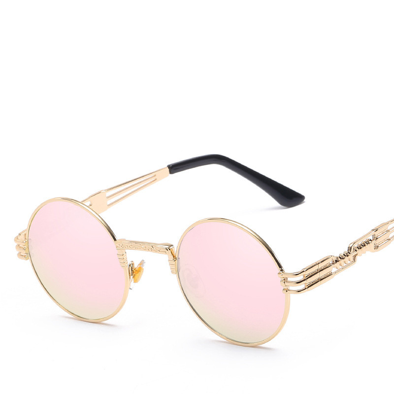LONSY Υπερμεγέθη ρετρό στρογγυλά γυαλιά - Αξεσουάρ ένδυσης