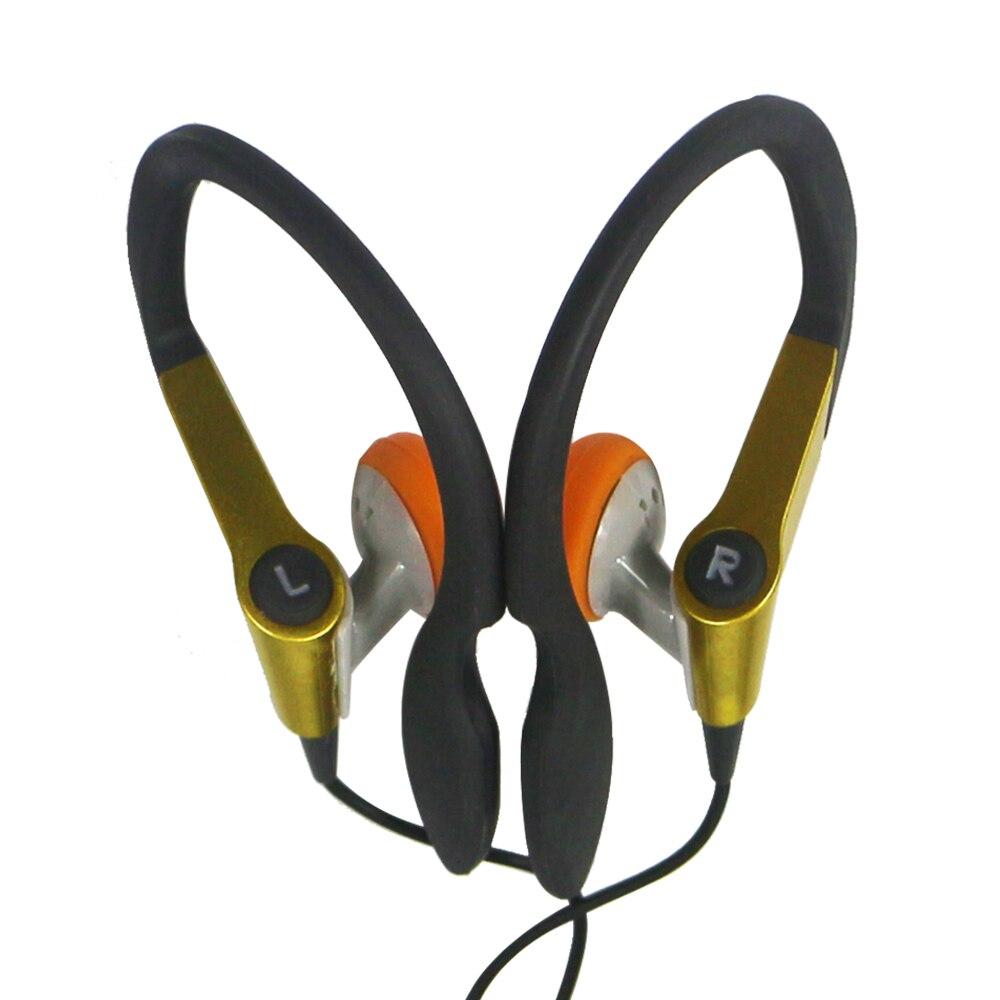 Высококачественные спортивные наушники для бега, Универсальные наушники с ушным крючком с разъемом 3,5 мм для ISO Android мобильный телефон Mp3 Mp4 п...