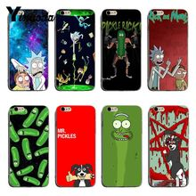 yinuoda rick and morty mr pickles rick newest super cute phone cases for iphone 8 8plus 7 7plus 6s 6splus xsmax x xs xr Yinuoda Rick and Morty Mr. Pickles Rick Newest Super Cute Phone Cases For iPhone 8 8plus 7 7plus 6s 6sPlus XSMax X XS XR