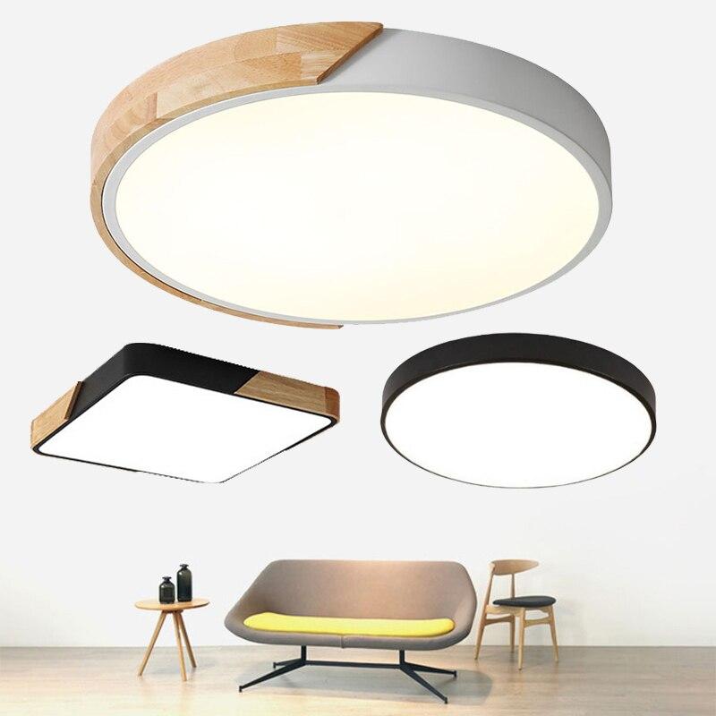 Ultra-dünne Led-deckenleuchte Moderne Lampe Wohnzimmer Beleuchtung Leuchte Schlafzimmer Küche Oberfläche Montieren Flush-Panel Fernbedienung
