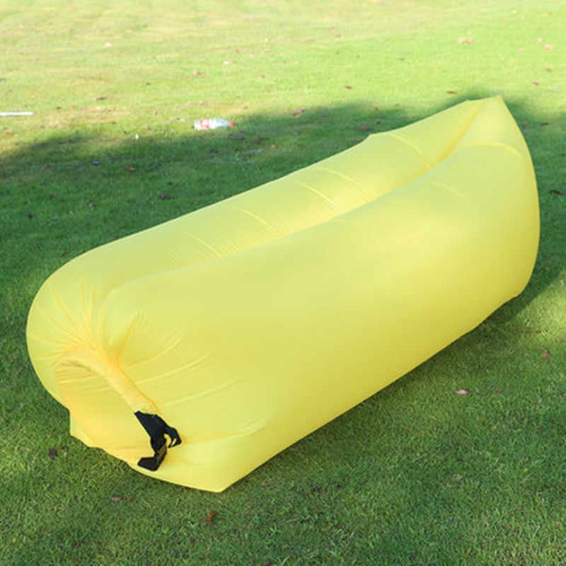 Sofá Dobrável inflável Inflável Rápido Piqueniques Preguiçoso Sofá Espreguiçadeira Cama de Viagem Portátil Natação Dormir Praia Relaxar Cadeira De Ar