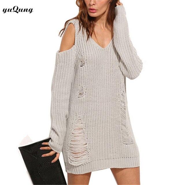 Aliexpress.com : Buy yuqung New 2017 Autumn Long Women Sweater off ...