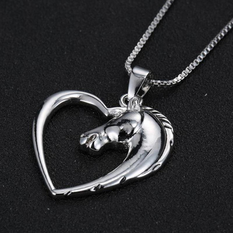 Fashion Charm Dainty Heart Initial Letter Necklace Personalized Necklace Name Jewelry for women gift girlfriend accessories