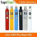 Original joyetech ego aio pro kit 2300 mah batería 4 ml atomizador todo-en-un kit de inicio cigarrillo electrónico ego kit pro