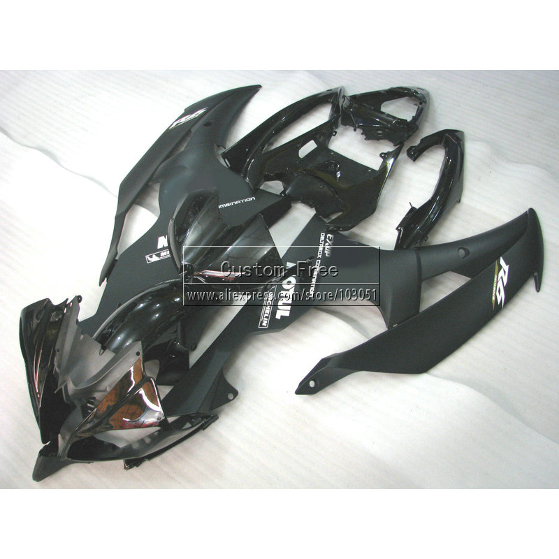 Injection mold motorcycle fairing kit For YAMAHA YZF R6 2008 2009 2010 YZFR6 plastic 08 14 black aftermarket body fairings set