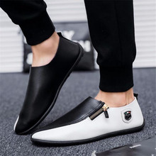 BJYL 2019 New Spring and Summer Breathable mens Sneakers casual shoes comfortable flats soft bottom Fashion wild B1