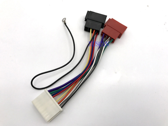 iso standard car radio audio wire harness cable accessories for rh aliexpress com standard car audio connector
