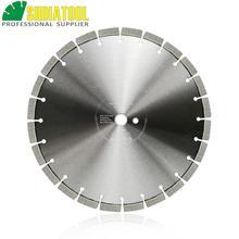 цена на SHDIATOOL 1pc Dia 14inch/354mm Laser Welded Arrayed Diamond Blade Cutting Disc Saw blade Diamond Wheel Reinforced Concrete