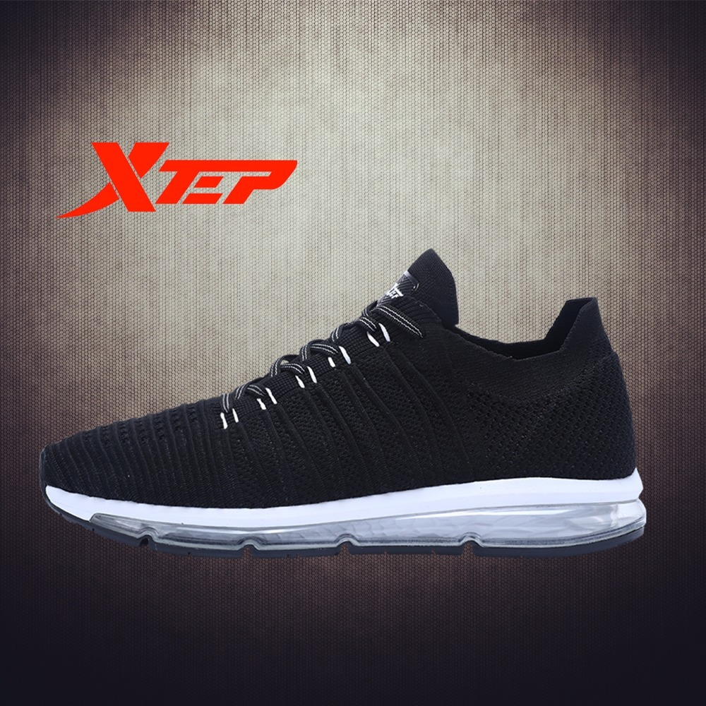 XTEP 2017 New Hot men's Running sport outdoor Breathable Air Sole boots shoes sneakers for Men free shipping do dower men running shoes lace up sports shoes lovers yeezys air outdoor breathable 350 boost sport sneakers women hot sale