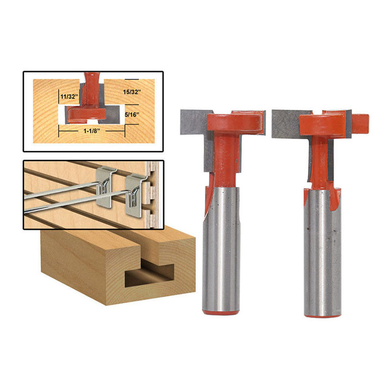 12mm Shank Top Quality T-Slot & T-Track Slotting Router Bit For Woodworking Chisel Cutter Wholesale Price Wood Cutting Tool best price mgehr1212 2 slot cutter external grooving tool holder turning tool no insert hot sale brand new