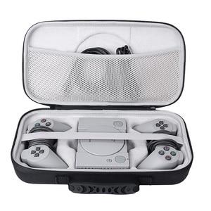 Image 2 - 2019 Nieuwe EVA Hard Carry Opslag Perfecte Bescherming Case voor Sony Playstation Classic Mini Console, 2 Controllers en Accessoires
