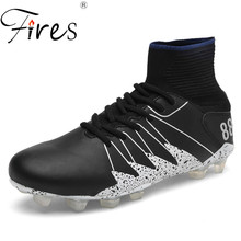 Фотография Fires Large Size Soccer Shoes For Men Brand Football Shoes Man Professional Hight Quality Soccer Boots Sport Sapatos de futebol