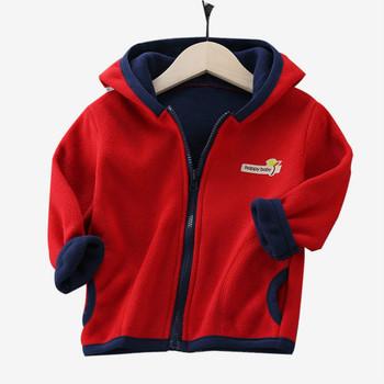 Ubrania dla dzieci chłopcy dziewczęta kurtki dla dzieci z kapturem zimowa dla niemowląt ciepłe bluzy dla dzieci maluch dla dzieci płaszcz dziecięcy 18 M-10 T tanie i dobre opinie Unini-yun moda COTTON Mikrofibra 19 8 Pełne Stałe REGULAR Dobrze pasuje do rozmiaru wybierz swój normalny rozmiar duża waga