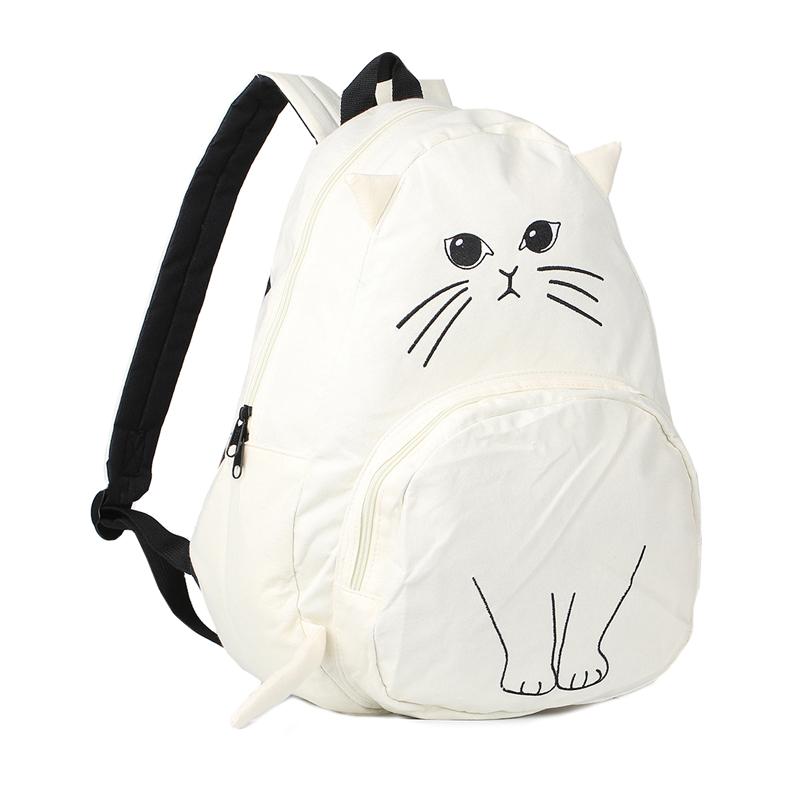 Sac à dos en forme de chat