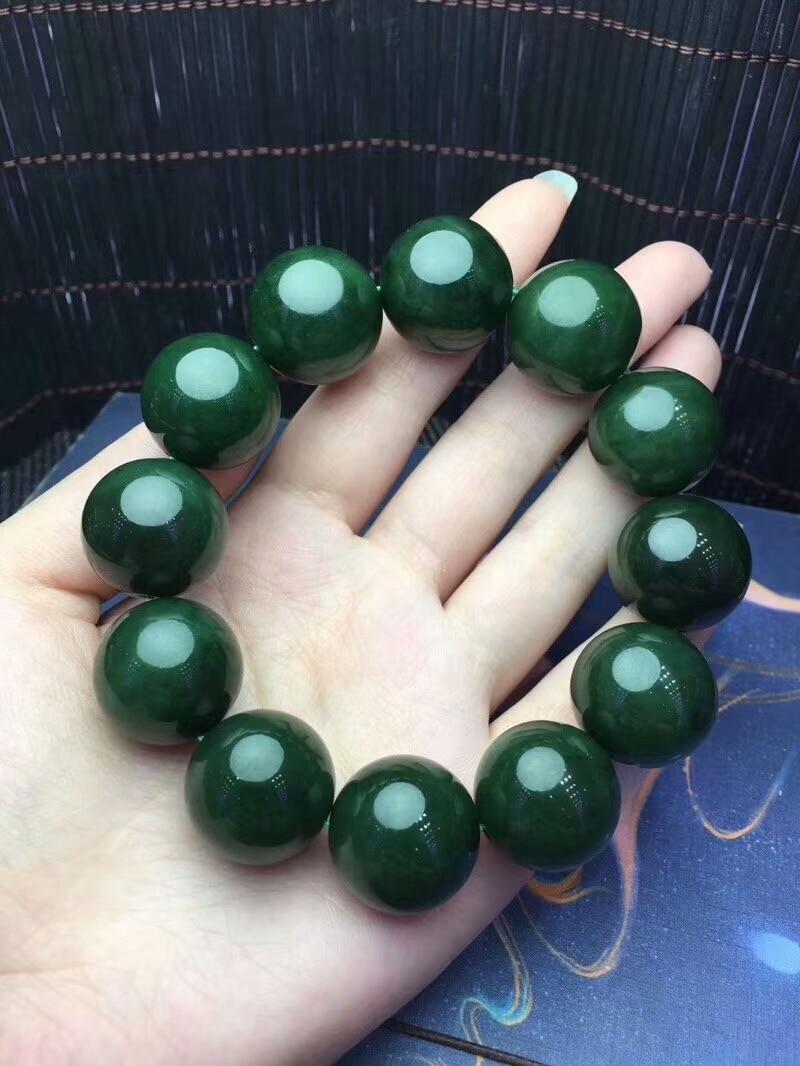 Red 100/% Natural A JADE Jadeite Bead Beads Bangle Bracelet 20mm