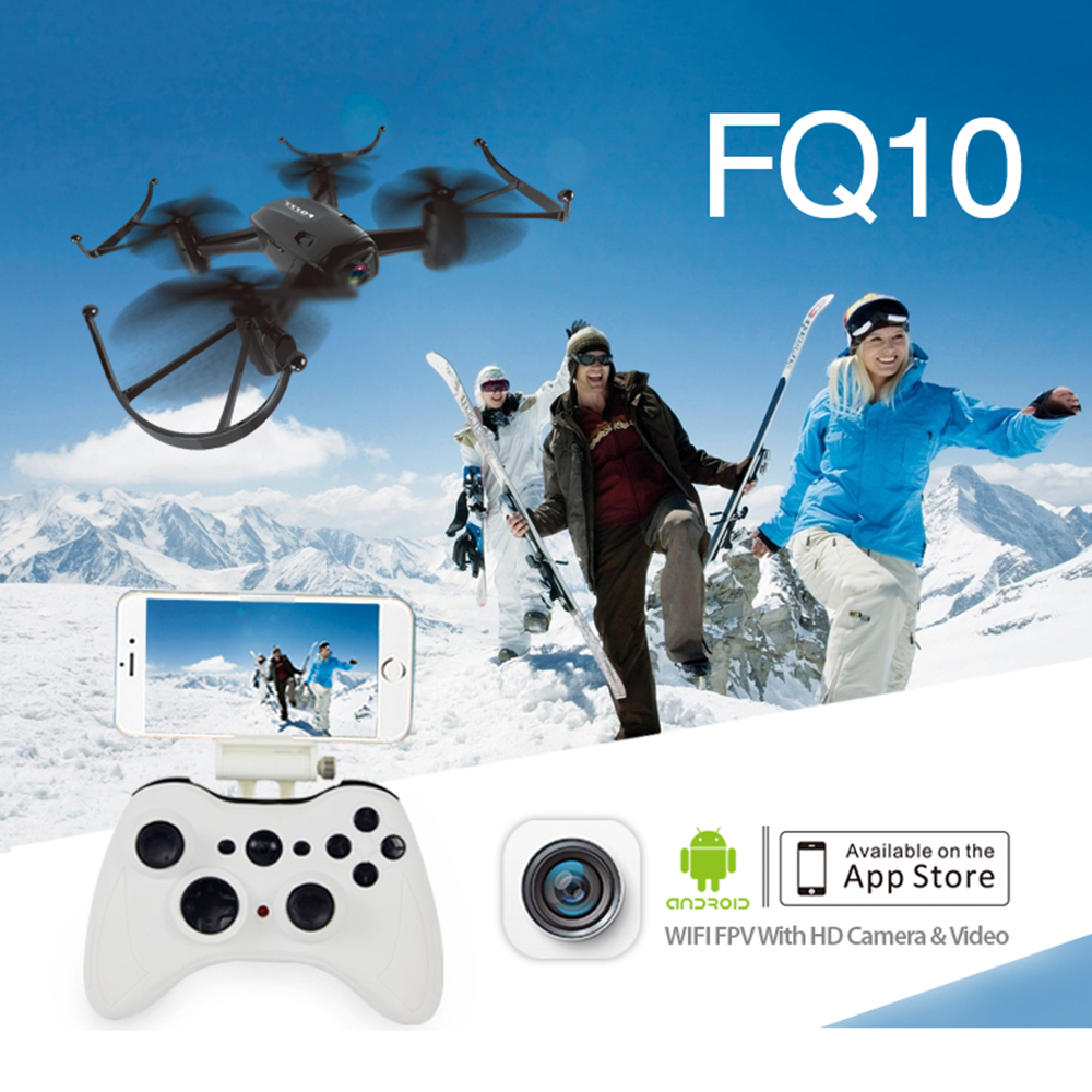 2016 FQ777 FQ10 Quadrocopter WiFi Drone with 720P Camera RTF 6-axis Gyro RC Quadcopter 2.4GHz Mini Drone Dron FPV RC Helicopter q929 mini drone headless mode ddrones 6 axis gyro quadrocopter 2 4ghz 4ch dron one key return rc helicopter aircraft toys