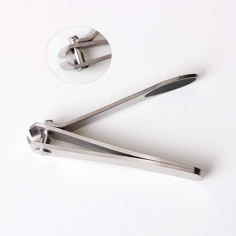 2 pçsset aço inoxidável toe unha clipper