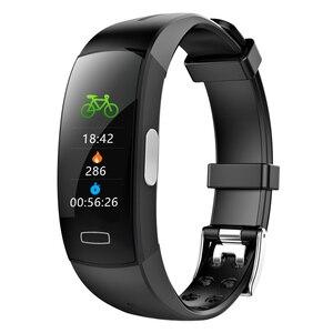 Image 4 - MHKBD PPG ЭКГ браслет артериального давления IP67 водонепроницаемый смарт Браслет спортивный шаг мониторинг сердечного ритма наручные часы KBD0020