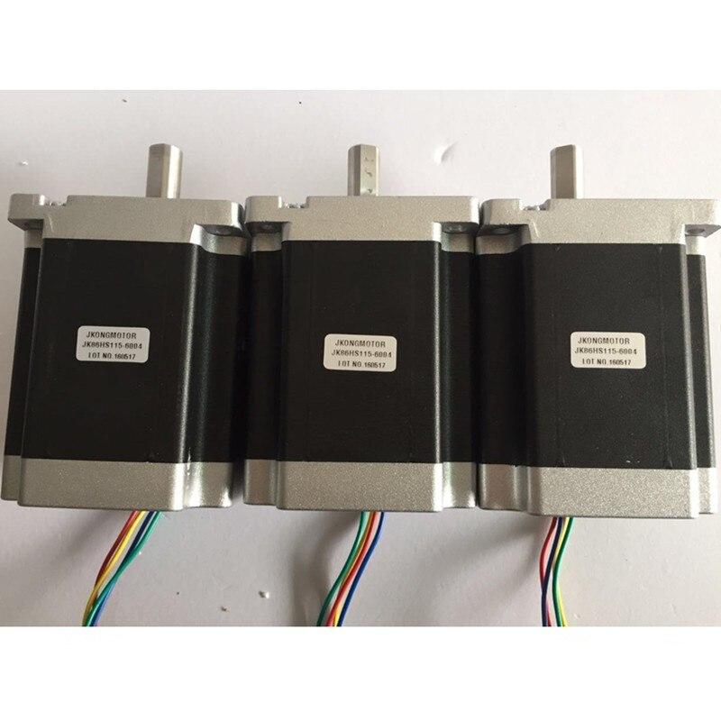 Nema34 Stepper Motor 86HS115 - 6004 + Stepper Driver + Power Supply + DB25 Breakout Board for CNC