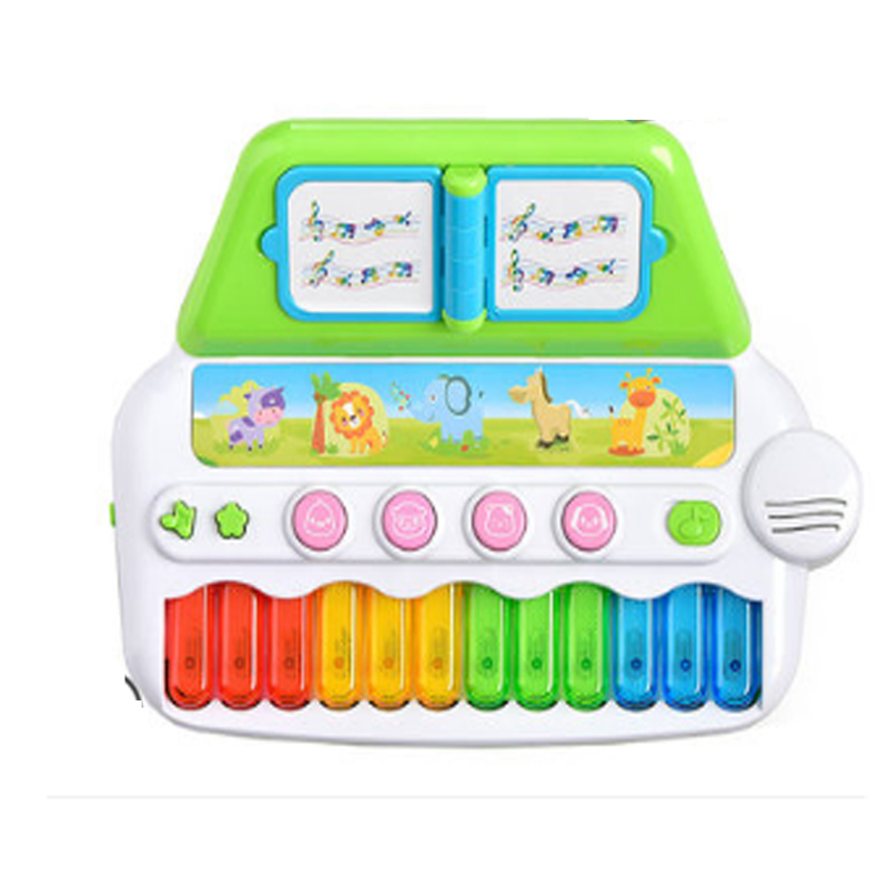 Jouets pour enfants bébé Instrument de Piano Musical jouets Piano électrique bébé début d'apprentissage éducatif multi-fonction jouet de loisirs électronique - 2