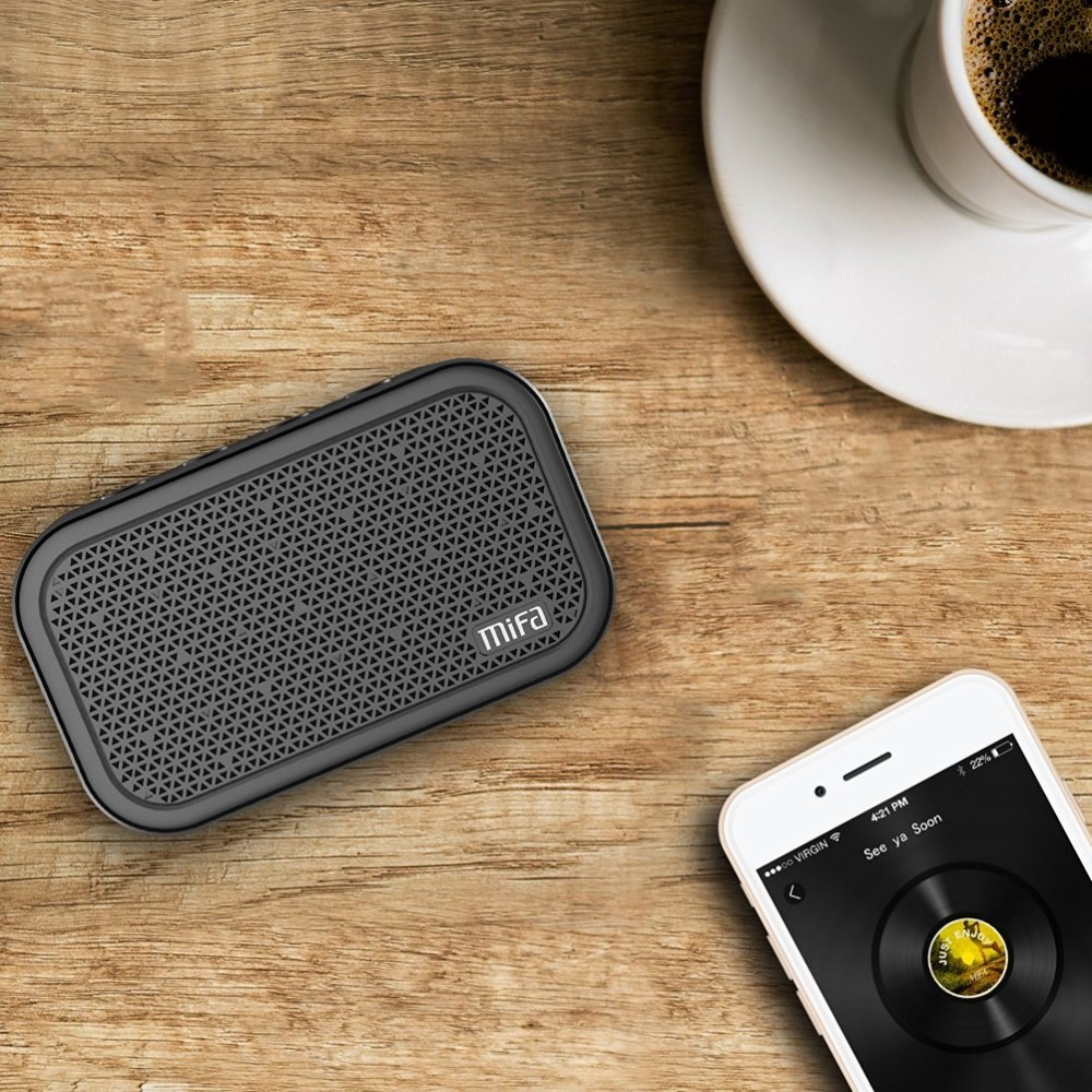 Noise Cancelling Speakers Outdoors Xiaomi Mifa M1 Speaker Bluetooth Cube Portable Stereo Wireless Outdoor Rock