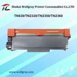 Compatible toner cartridge for Brother TN630/TN2320/TN2350/TN2360 MFC-L2700dw/L2720dw/L2740dw;DCP-L2520dw/L2540dn/L2560dwr