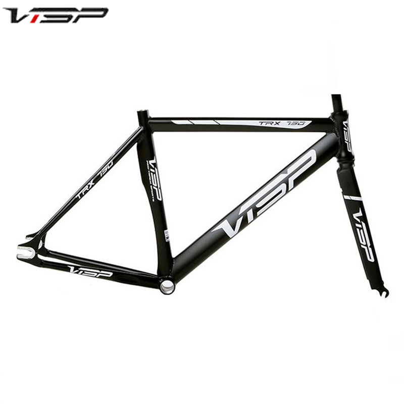 VISP 790 fixied bike frame aluminum fixed frame 48cm/50cm/52cm/54cm/56cm/58cm/60cm fixed gear bike frame