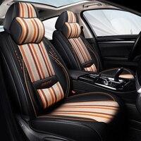 9D universal all round car seat cover Car styling Car Seat Cushions Car pad, auto seat cushions For BMW Audi Toyota Honda Chevro