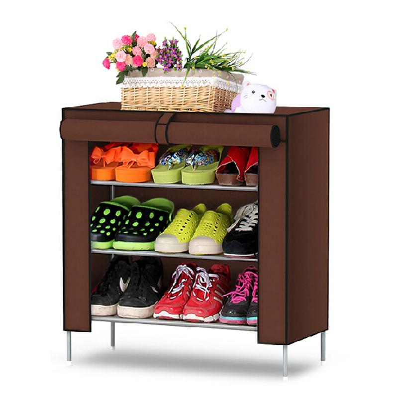 Shoe racks Non woven fabrics furniture Shoe cabinet shoe storage
