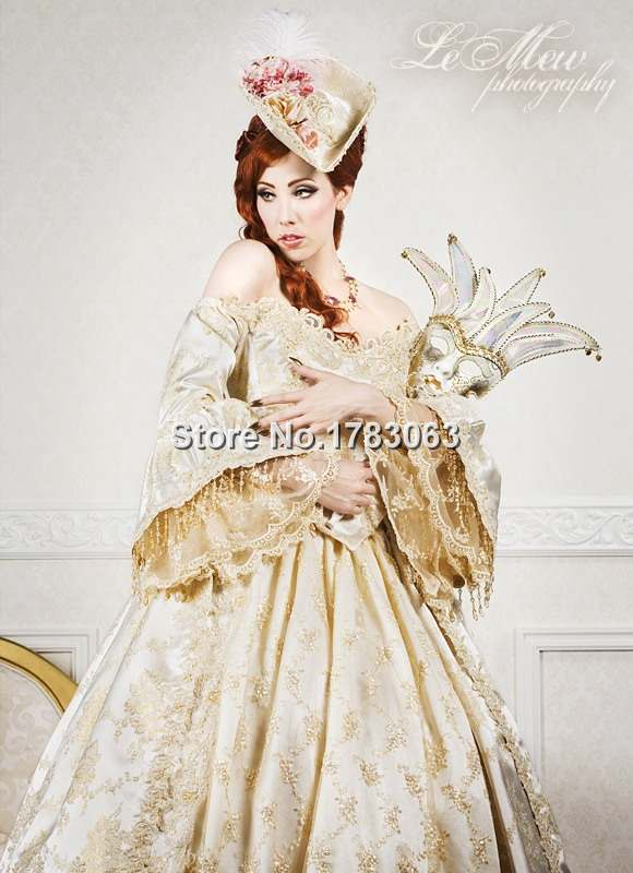 southern Théâtre Robe Antoinette Dentelle Belle Marie 3pce Costume Fantasme Ultime En Reconstitution Robe Gold Dos rxoBdCe