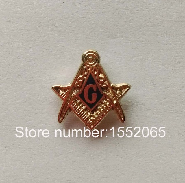 430907d03caf Wholesale 11mm blue lodge masonic mason freemasonry Lapel Pin badge ...