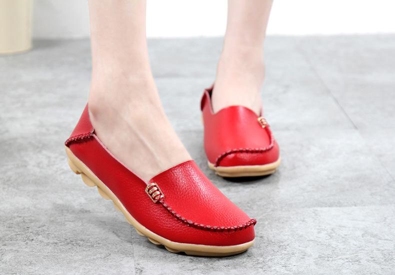 AH912 (23) women's loafers shoe