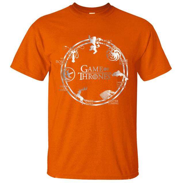 Game of Thrones Cotton Men T-Shirts 3