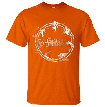 Game of Thrones Men T Shirt Summer Hip Hop Men Short Sleeve Shirt