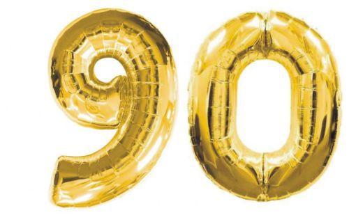 11 67 40 Pulgadas 2 Piezas Gigante Oro Plata Lámina Globos 90 90 Cumpleaños Feliz Fiesta Decoración In Globos Y Accesorios From Hogar Y Mascotas On