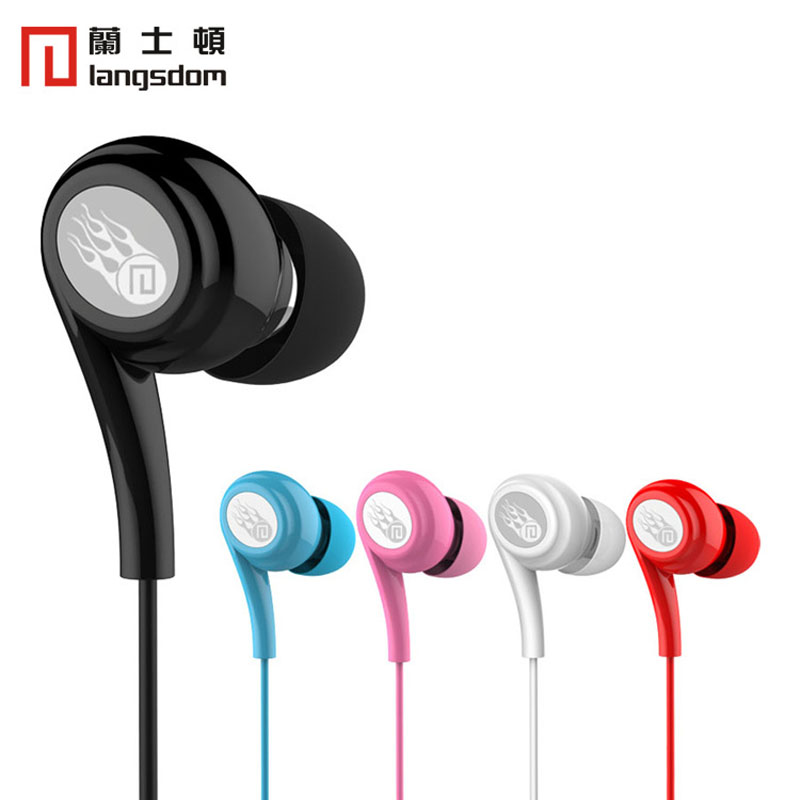 Original Langsdom JD91 3.5mm stereo earphone Super Bass Earphone with microphone for iphone6 xiaomi redmi note4 all mobile phone original langsdom sp80a stereo earphones with microphone super bass 3 5mm in ear earphone for iphone xiaomi mobile phone mp3 mp4