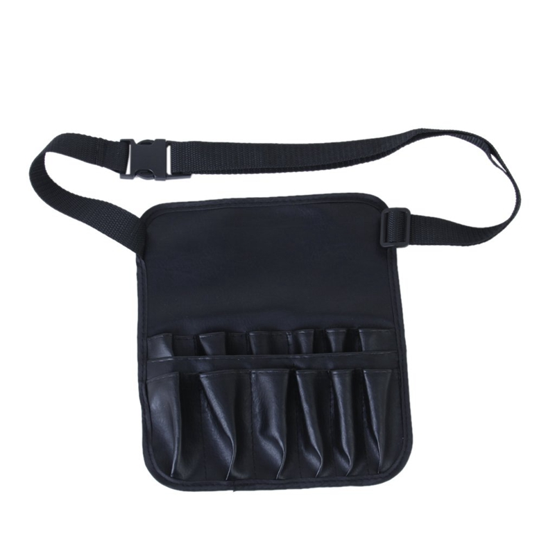 100% Brand New 12 Slot With 1 Big Compartment Empty Belt Pouch (Make Up Brushes Not Included)