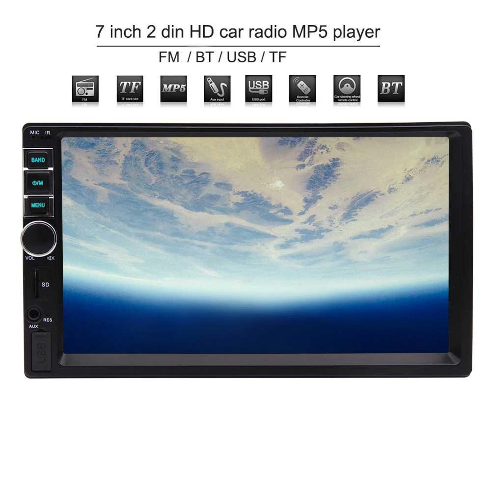 Eincar Car Mp5 Player Double Din 2 Stereo Radio 7 Inch Front Wiring Diagram Please Refer To The Circuit 5this Is Not Cd Dvd Gps Faceplate Removable