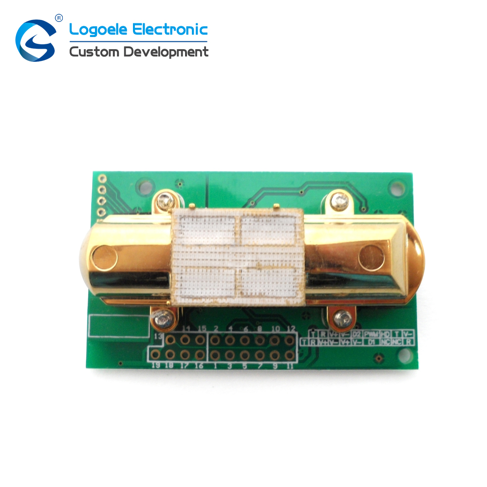 цена на High quality CO2 SENSOR MH-Z14A infrared carbon dioxide sensor module,serial port, PWM, analog output with cable Free shipping