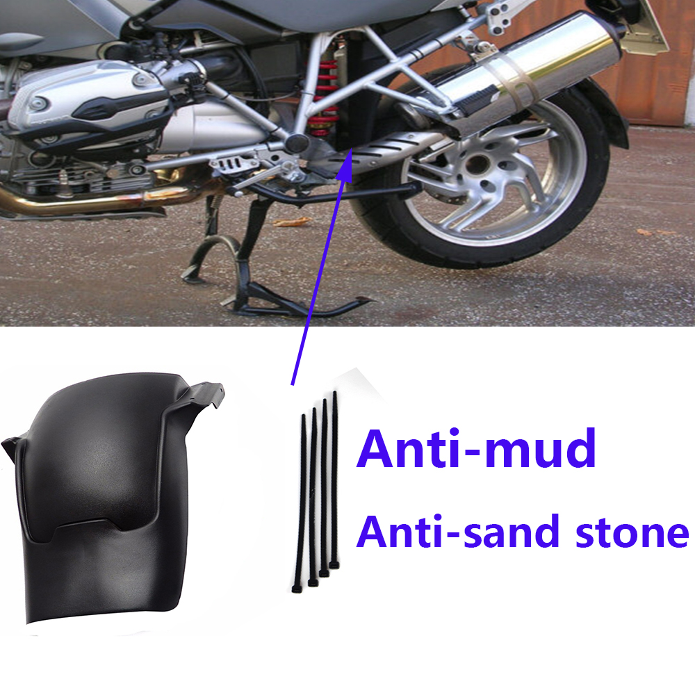 Motorcycle Rear Tire Hugger Splash Guard Black Fender For BMW GS R1200GS LC adv R1200 R 1200GS 2013 2014 2018 Mudguard extension in Covers Ornamental Mouldings from Automobiles Motorcycles