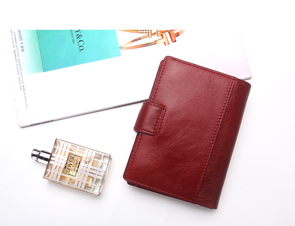 CONTACT S Passport Cover Women s genuine leather purse business card ... 1e7c1b71751a5