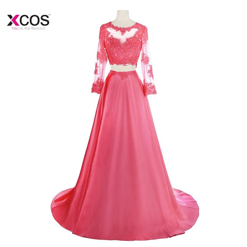 रोबे डी सोरी फीता रॉयल - विशेष अवसरों के लिए ड्रेस