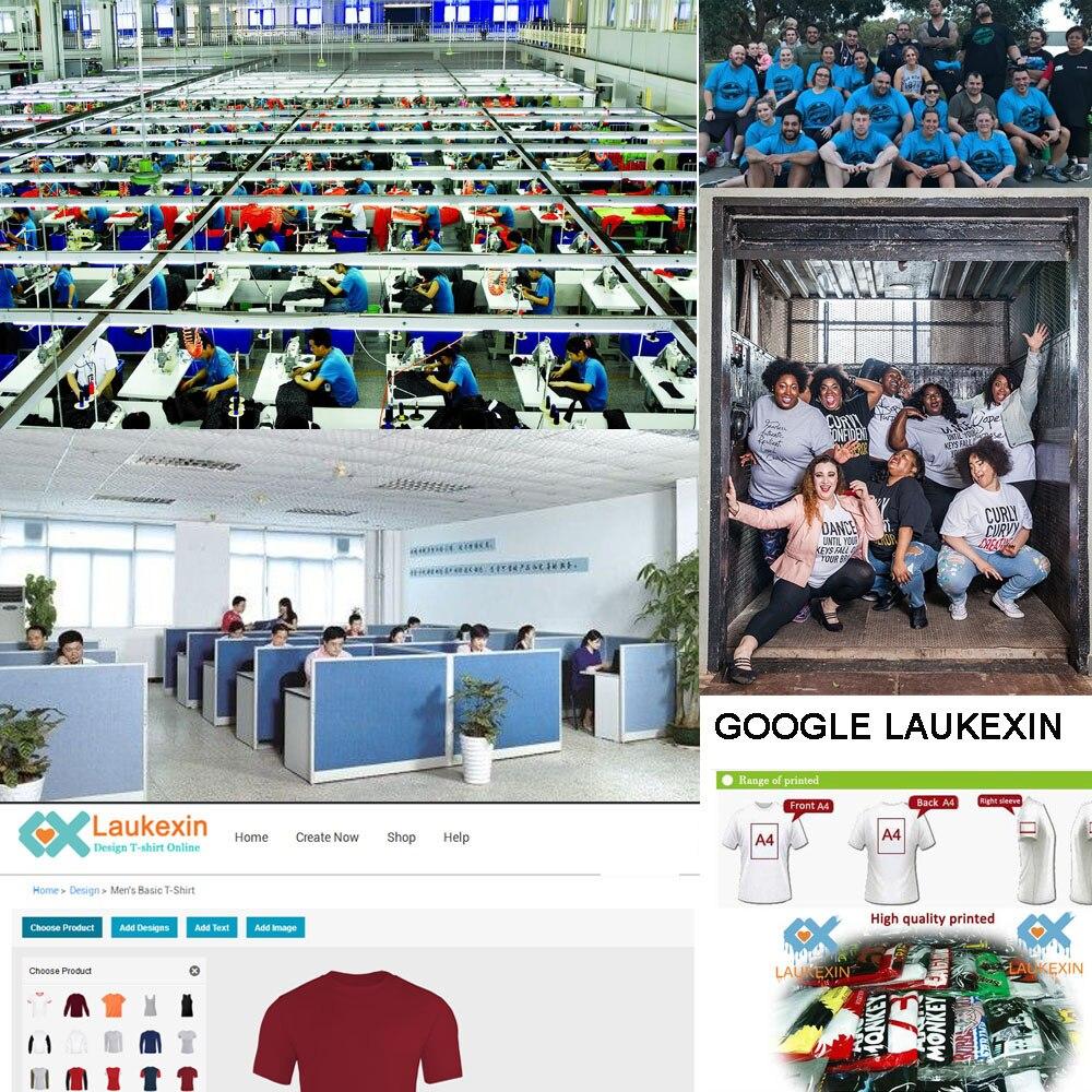 LAUKEXIN big and tall t shirt oversize tees usa euro size S M L XL XXL 3XL  4XL bda05286dcae