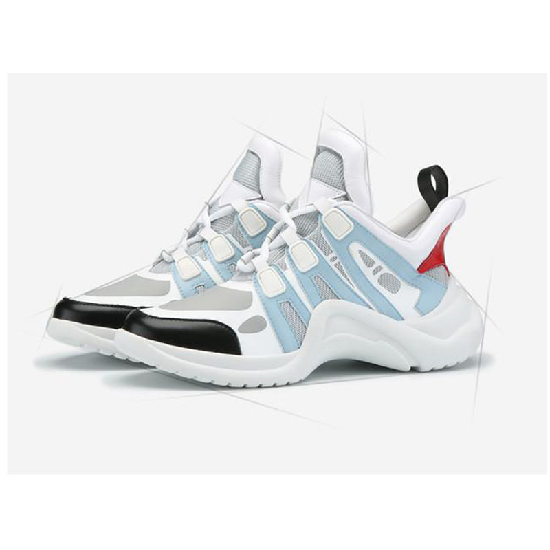 New arrival Handmade Mens Brand sneaker Shoe Hot sale Ins DADDY Shoes Strange bottom shoe Sneaker Kanye West Shoes no 1 g6 eu us bluetooth 4 0 heart rate monitor smart watch black